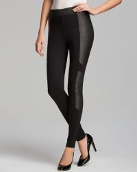 Pjk Patterson J. Kincaid Leggings Maypop Faux Leather - Black
