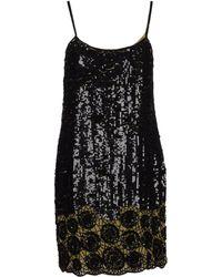 Liu Jo Short Dress black - Lyst