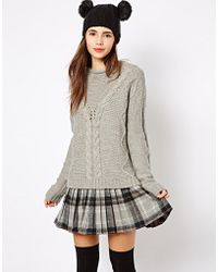 Insight - New Look Cable Sweater - Lyst