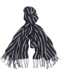 J.Crew | Striped Woven Scarf | Lyst