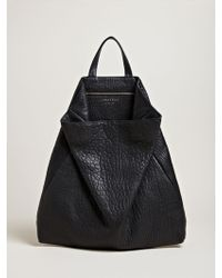 Tsatsas | Fluke Single Handle Shrunken Lamb Nappa Bag | Lyst