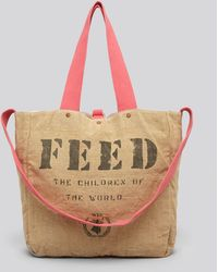 Feed Tote 2 - Natural
