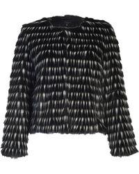 Aftershock Robyn Faux Fur Jacket - Lyst