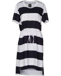 B Store Short Dress white - Lyst