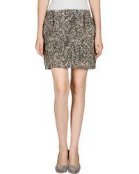 Beija Mini Skirt - Lyst