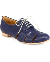 Coclico - Ishiro Leather Cutout Oxfords - Lyst