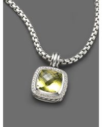 David Yurman - Albion Lemon Citrine Enhancer - Lyst