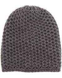 Inverni Chunky Knit Beanie - Lyst