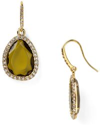 Ralph Lauren Lauren Social Scene Drop Earrings - Lyst