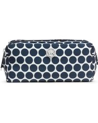 Michael Kors Michael Medium Kiki Cosmetic Bag - Blue