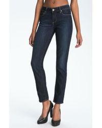 Paige 'Skyline Ankle Peg' Skinny Stretch Jeans - Lyst
