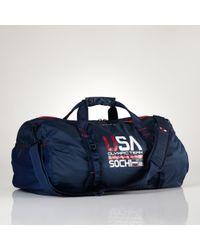 Polo Ralph Lauren Team Usa Packable Duffel - Blue