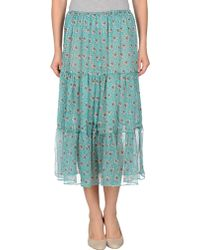 Snow From St Barth Long Skirt - Lyst