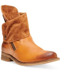 Steve Madden Solemate Booties - Lyst