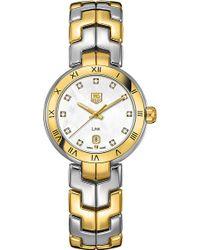 Tag Heuer - Two-tone Lady Link Quartz Watch - Lyst