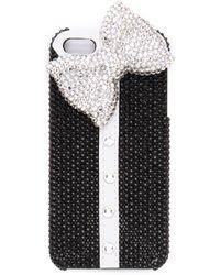 Alice + Olivia - Alice Olivia Shirt Jeweled Iphone 5 5s Case - Lyst