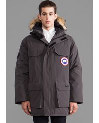 Canada Goose jackets sale store - Canada goose Carson Coyote Fur Trim Parka in Gray for Men ...