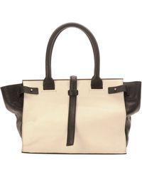 CoSTUME NATIONAL - Parigi Twotone Framed Shopper Tote Bag - Lyst