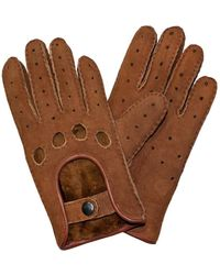 Cynthia Rowley Gloves Shearling - Brown