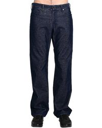 Giorgio Armani Jeans Needlecord Velvet Denim Effect - Lyst