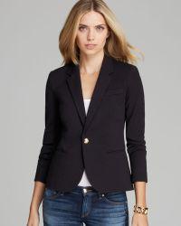 Juicy Couture Blazer Solid Ponte - Black