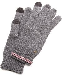 Juicy Couture - Glamour Girl Texting Gloves - Lyst