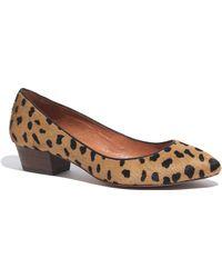 Madewell The Quinn Shoe in Calf Hair - Multicolour