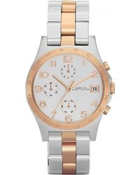 Marc By Marc Jacobs Mbm3070 Stainless Steel And Rose Gold Plated Watch - For Women - Lyst