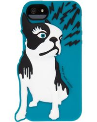 Marc By Marc Jacobs Teal Olive Dog Iphone 5 Case - Blue