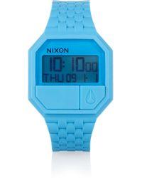 Nixon - The Rubber Rerun Watch - Lyst
