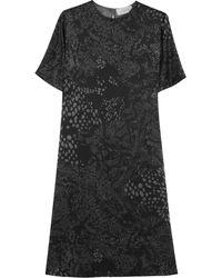 Preen By Thornton Bregazzi Maja Crepe De Chine Dress - Lyst