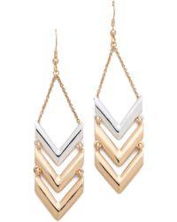 Rose Pierre - La Maison Goyard Drop Earrings - Lyst
