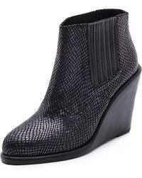 Shakuhachi - Hologram Ankle Booties - Lyst