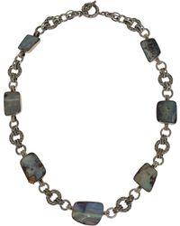 Stephen Dweck - Silver Boulder Opal Necklace - Lyst