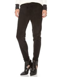 Townsen - Perforated Suede Pants - Lyst