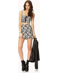 Forever 21 Romantic Rose Skirt Set You've Been Added To The Waitlist - Gray