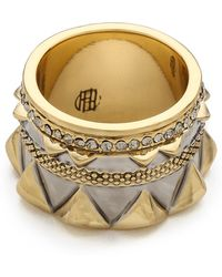 House of Harlow 1960 - Conquistadors Crown Ring - Lyst