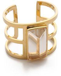 Paige Novick - For Veronica Beard Three Row Cuff Bracelet - Lyst