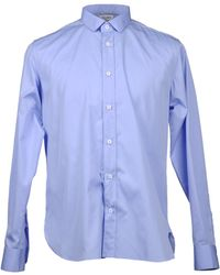 Saint Laurent Long Sleeve Shirt - Blue