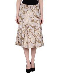 Schneiders 3/4 Length Skirt - Natural