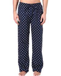 Naturally Nautical Pyjama Bottoms - Blue