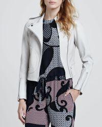 Theory Hendrina Printed Silk Jumpsuit - Lyst
