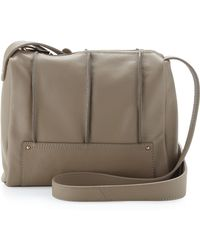 Kelsi Dagger Brooklyn - Gowanus Seamed Crossbody Bag Mocha - Lyst