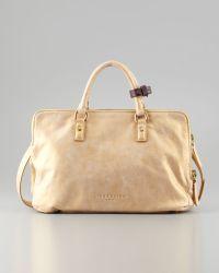 Liebeskind - Koko Metallic Tote Bag Gold - Lyst