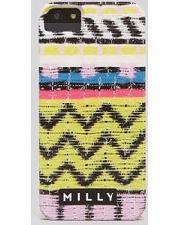 MILLY - Iphone 55s Case Raffia Print - Lyst