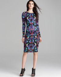 Nicole Miller Artelier Jersey Dress Aurora - Multicolor