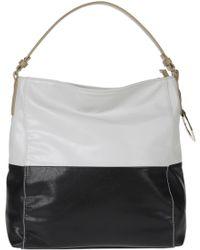 Roccobarocco Medium Leather Bag - Black