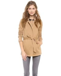 Splendid | Seneca Fleece Car Coat | Lyst