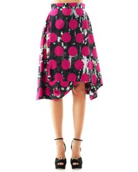 Vivienne Westwood Anglomania - Aztecprint Full Skirt - Lyst