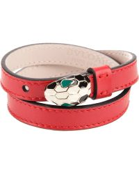 BVLGARI Snake Belt - Red